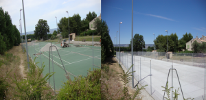 reconstruction de tennis