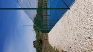 Clôture de terrain de tennis