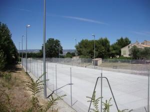 Clôture + Rénovation 2 courts