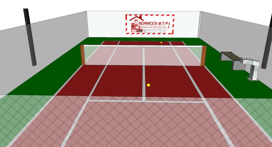 terrain de tennis du particulier la collectivit services b t p i sbtpi construction. Black Bedroom Furniture Sets. Home Design Ideas