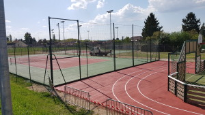 Travaux tennis