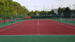 Peintures de court de tennis