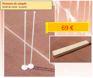 poteaux simple