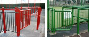 barrière anti cycle PMR