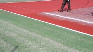 peinture tennis
