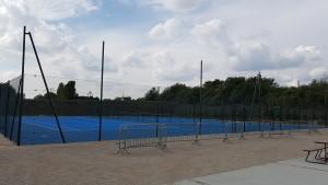 Rénovation de terrain de tennis
