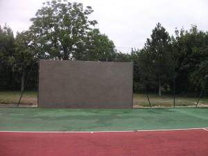 mur d'entrainement