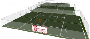 la construction, la rénovation et l'entretien de court de tennis dans toute la France