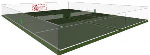 Constructeur de terrain de tennis