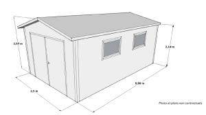 plan 19 m²