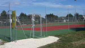 rénovation de deux terrains de tennis