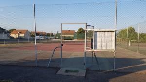 Tennis avant les travaux