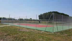 Création de tennis après les travaux