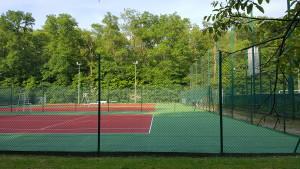 Réhabilitation des courts de tennis